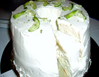 Matthew's Key Lime Angel Food Cake Graphic
